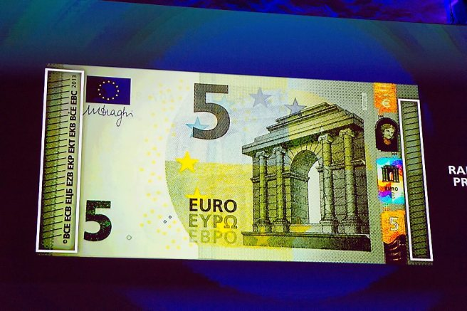 Nieuw 5 euro biljet